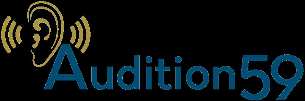 Logo de Audition 59 - Votre audioprothésiste à Cysoing Templeuve Wattrelos